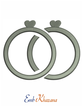 2 Ring With Heart