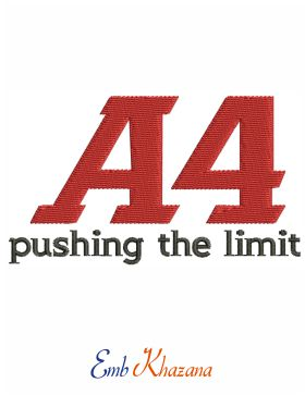 A4 Pushing The Limit