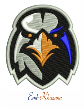 Aberdeen Ironbirds embroidery design