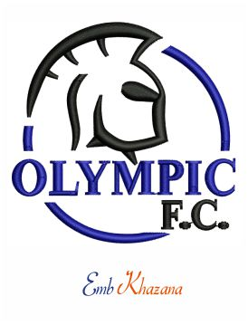 Adelaide Olympic Football Club embroidery design ...