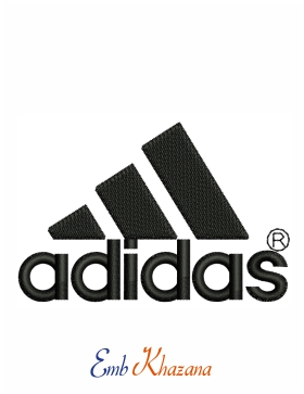 Adidas Logo Embroidery Design