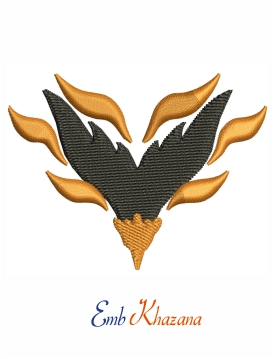 Albany Firebirds LOGO embroidery design