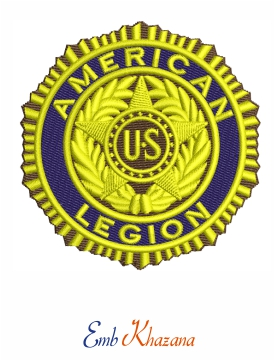 American Legion Embroidery Design