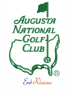 Augusta national golf club logo