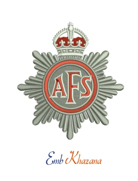 Auxiliary Fire Service Badge