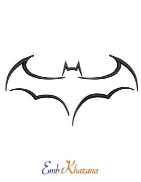 simple batman outline Logo