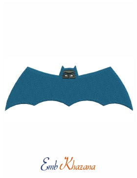 batman wings Embroidery File