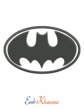 Batman Logo Embroidery File