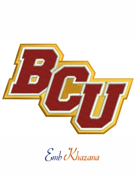 Bethune Cookman Wildcats embroidery design