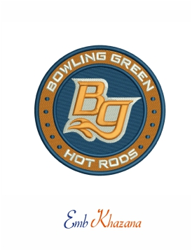Bowling green hot rods logo