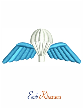 British army parachute wings