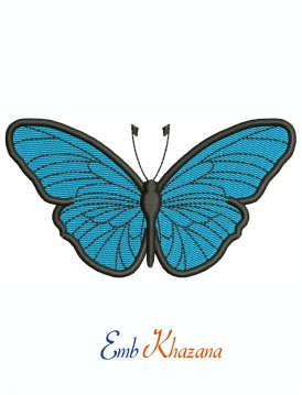 Small Butterfly machine embroidery design