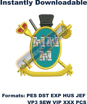 Dublin Coat Of Arms Embroidery Pattern