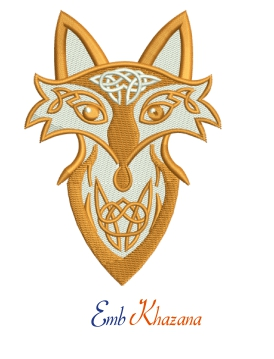 Celtic Knotwork fox