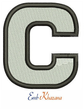 Centenary college athletics cap logo embroidery design