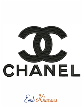 Chanel Logo Embroidery Design