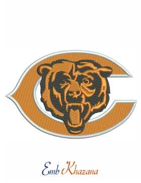 Chicago Bears Football Logo