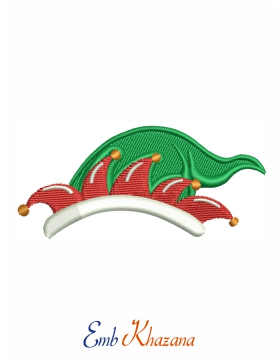 Christmas Cap Embroidery File