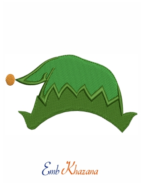 Christmas Green Cap