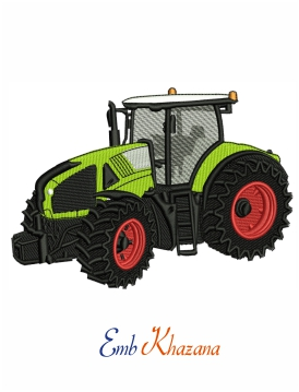 Claas Tractors embroidery design
