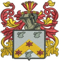 Coat Of Arms Embroidery Design