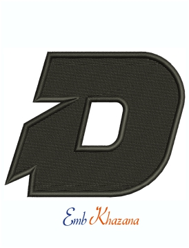 DeMarini Sports Logo Machine Embroidery Design