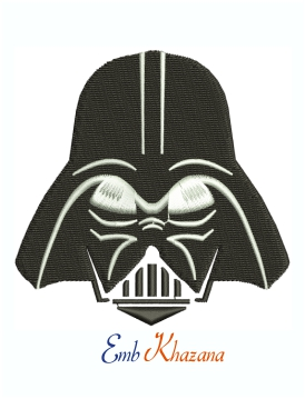 Darth Vader Star Wars Machine Embroidery Design