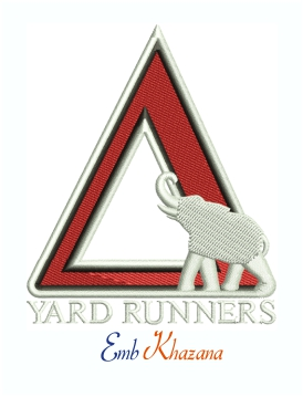 Delta Yard Runners Machine Embroidery Design