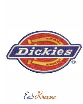 Dickies Logo Embroidery Design