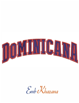 Dominican Republic Baseball Logo