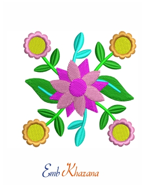 Colorful Flower Design