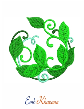 leaves border design