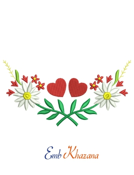 Flowers With Heart