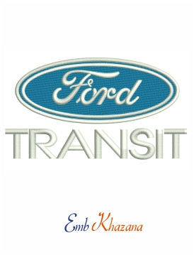 Ford Transit embroidery design