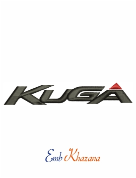 Ford kuga logo embroidery design