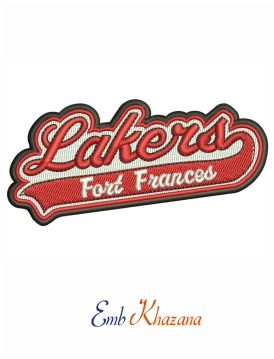 Fort Frances Lakers Primary Logo