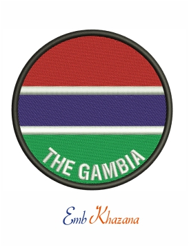 Gambia National Football Team Logo