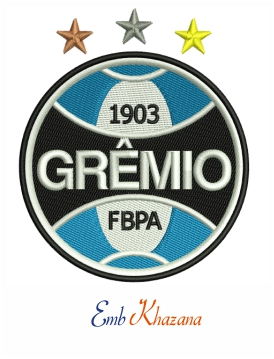 Gremio Logo Embroidery Design