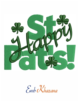 Happy St Pats design