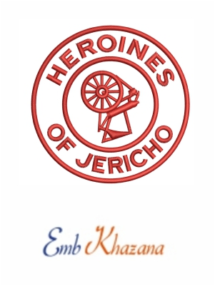 Heroines of Jericho embroidery designs