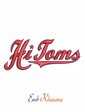 High Point Thomasville HiToms Logo