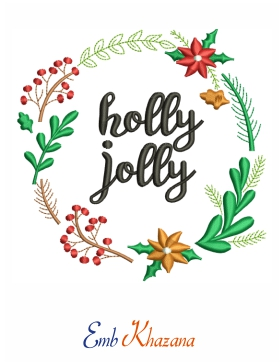 Holly Jolly Floral Design