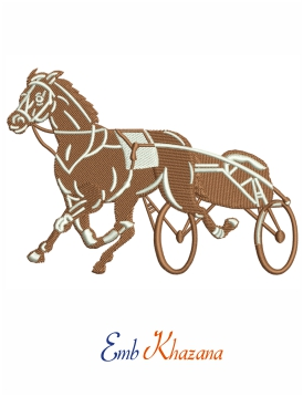 Horse with carriage Design