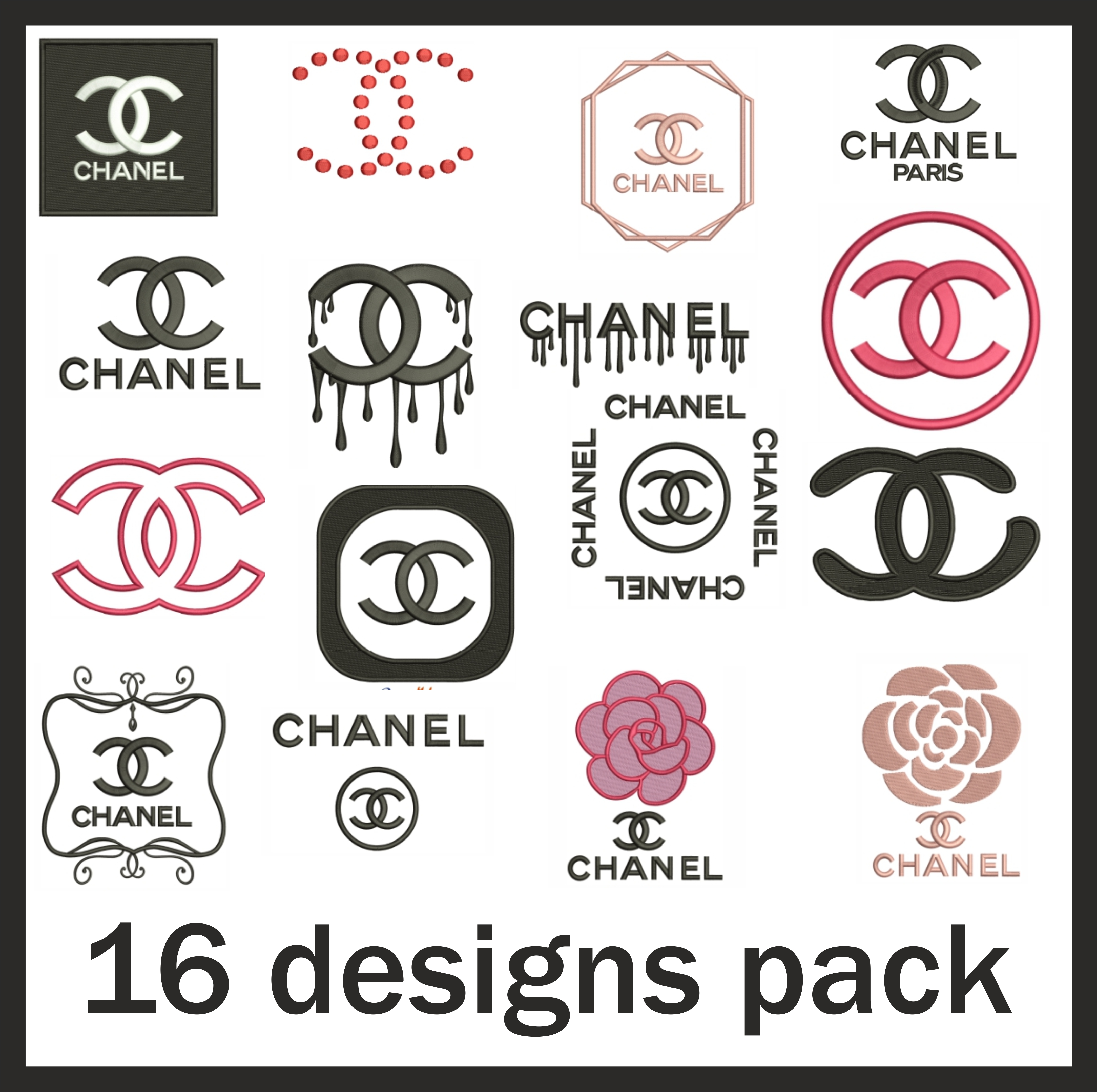 Chanel Logo Design Pack