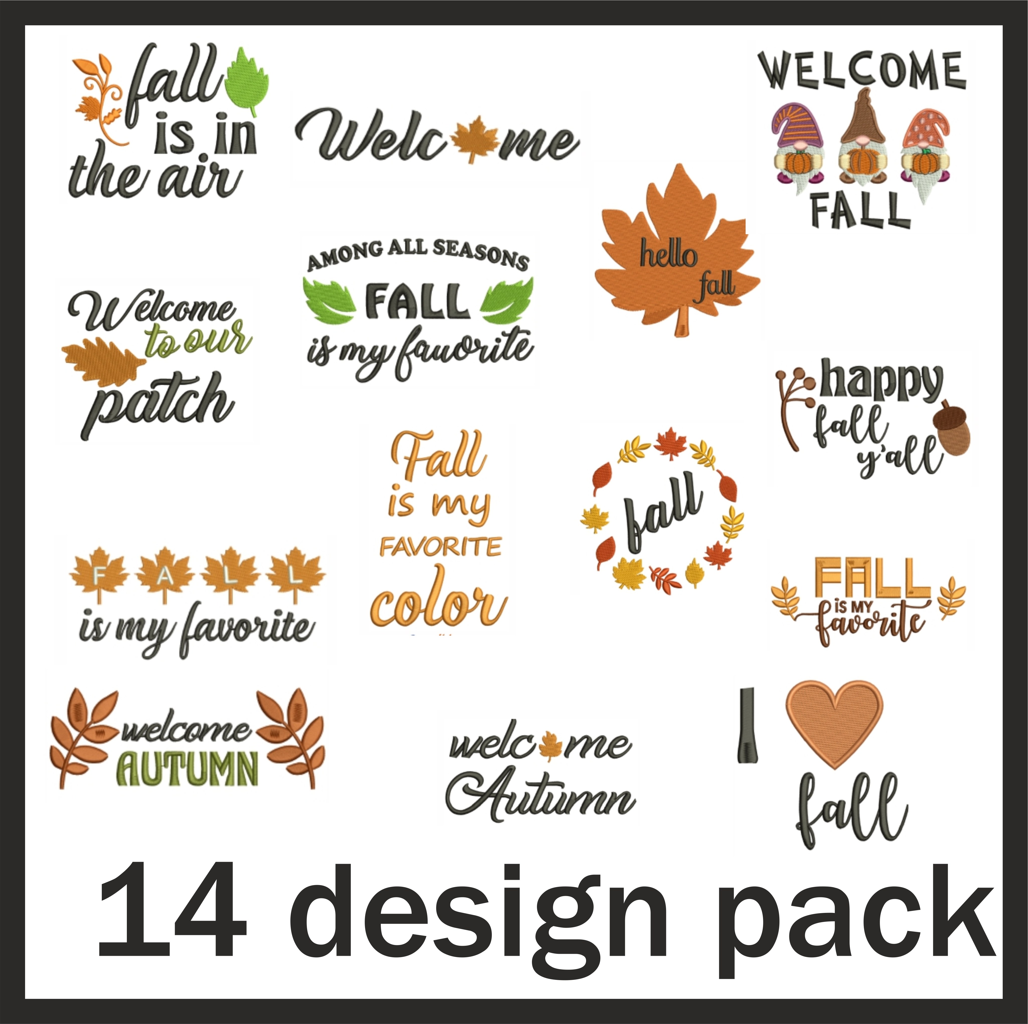 Autumn And Fall Design Pack