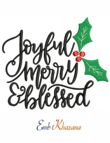 Joyful Christmas Design