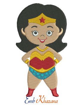 wonder women chibi