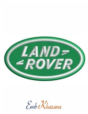 Land Rover Logo Embroidery Pattern