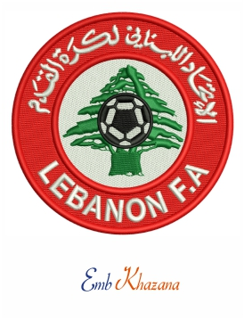 Lebanon national football logo