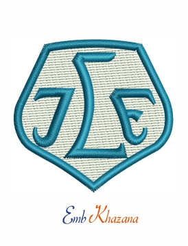 Leksands IF Embroidery Design